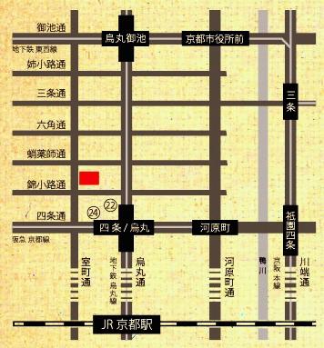 芸術センター地図
